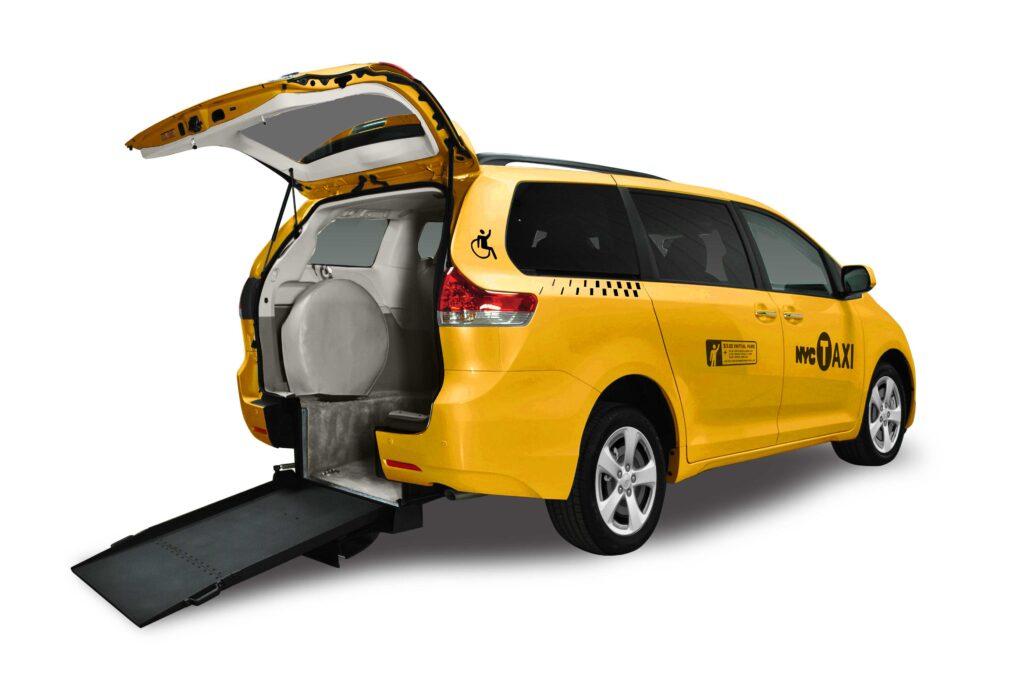 táxi para cadeirante